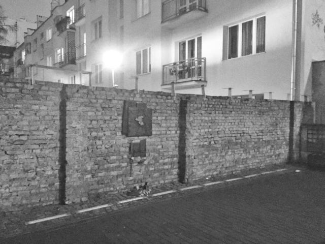 The Ghetto Wall and Jewish Heritage